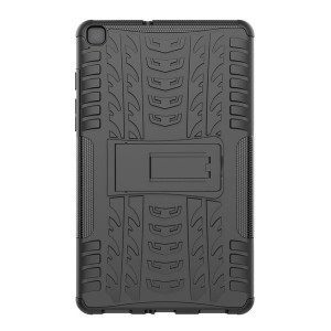Tuff-Luv Armour Case Rugged & Stand for Samsung Tab A 8.0 T290/T295 - Black