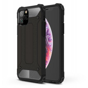 Tuff-Luv Rugged Armour Case for the Apple iPhone 11 Pro Max - Black