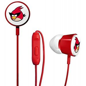 Gear4 Angry Birds Space Deluxe Tweeters - Red Bird