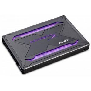 """Hyper-X Fury RGB 240Gb 2.5"""" SATA6G 3D TLC Solid State Drive"""
