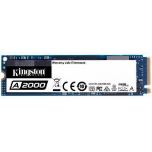 Kingston A2000 series 500Gb NGFF(M.2) 3D TLC SSD NVMe PCIe