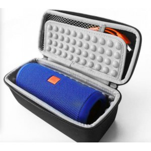 Tuff-Luv Travel Carry Protection Pouch Bag Cover Case For JBL Flip 3 and Flip 4 Speaker - Black
