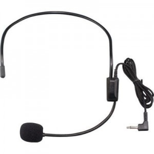 Tuff-luv 3.5mm Jack Head Mounted Microphone