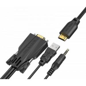 MT-Viki 1.8m VGA to HDMI Cable