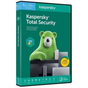 Kaspersky 2020 Total Security 3+1 DEV, 1 year DVD