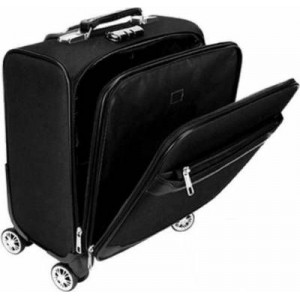"Microworld 15.6"" Trolley Bag - Black"