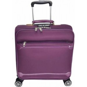 """Microworld 16"""" Roller Notebook Carry Bag - Purple"""