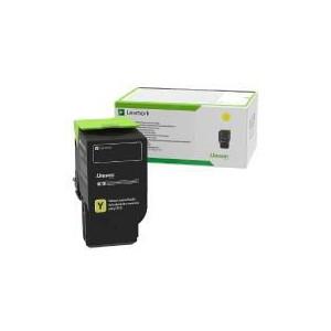 Lexmark 78C5XYE Yellow Extra High Yield Contract Toner Cartridge