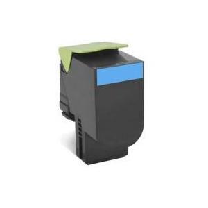 Lexmark 808HKE Cyan High Yield Corporate Toner Cartridge