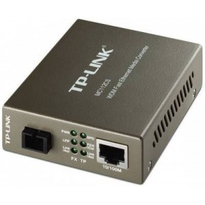 TP-Link 10/100Mbps RJ45 to 100Mbps Single-mode SC Fibre Converter