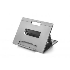 """Kensington SmartFit Easy Riser Go Adjustable Ergonomic Laptop Riser and Cooling Stand for up to 17"""" Laptops"""