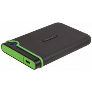 "Transcend StoreJet 25MC Slimline Series Iron Grey 2TB 2.5"" External Hard Disk Drive"