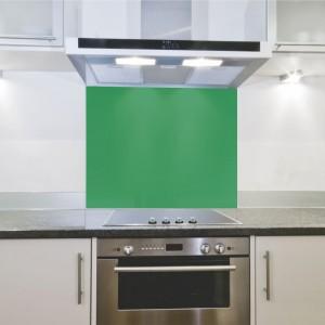 Splashback 598x650x4mm Hob Green