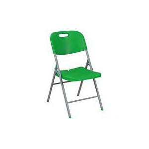 Casey Steel Folding Chair Size 430x450x835mm - Green