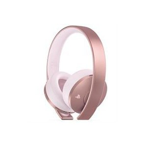 PS4 Rose Gold Wireless Headset