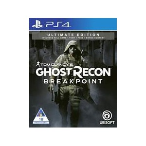 PlayStation 4 Game Tom Clancy Ghost Recon Breakpoint Ultimate Edition