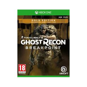 Xbox One Game Tom Clancy Ghost Recon Breakpoint Gold Edition