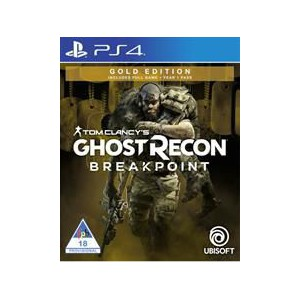PlayStation 4 Game - Tom Clancy Ghost Recon Breakpoint Gold Edition