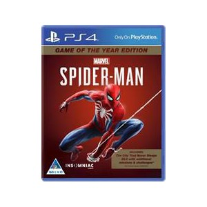 PlayStation 4 Game Spider-Man Game of the Year Edition