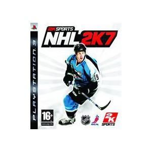 PlayStation 3 Game: NHL 2K7 Game
