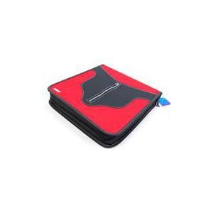 Ebox 84pcs Cd Holder Red & Black