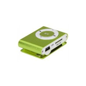Geeko iFlux Pocket MP3 Player With Back Clip