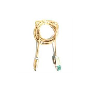 iJam USB A 2.0 to Micro B with Data Sync Cable 1m - Gold