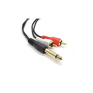 Unbranded 2m S/vhs to 1 Rca Plug