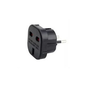 Unbranded Universal 2Pin Adapter - Black