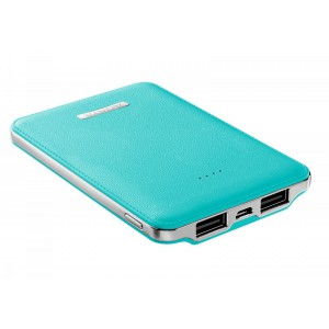 Adata 5100mAh PV120 Blue Powerbank - Dual USB