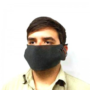 Black Disposable Masks - 5pc