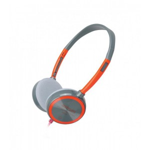 Astrum HS210 Headset Slim Wire Mic Red 30mm Driver