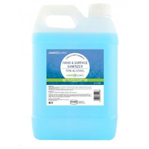 LIQUID CLINIC Hand & Surface Sanitizer Liquid 70% Alcohol - 1L