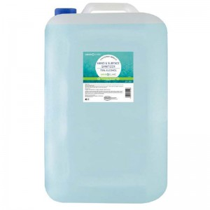 LIQUID CLINIC Hand & Surface Sanitizer Liquid 70% Alcohol - 25L