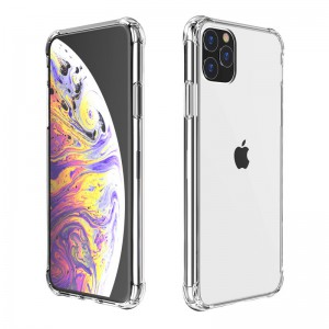 TUFF-LUV - Clear Case for Apple iPhone 11 - Clear