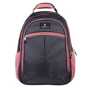 Volkano Orthopaedic Backpack 27L - Dark Grey/ Pink
