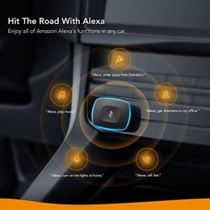 ANKERRoav Viva 2 Port USB Charger with Alexa Voice Activated Navigation (Compatible with Android and iOS Smart Devices)