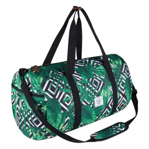 Supanova Kate Geojungle Printed Duffel  Bag - Green