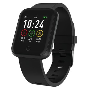 Volkano Active Tech Excel 2 Series Fitness Watch with HRM - Black