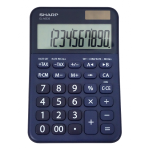 Sharp EL-M335B-BL 10-Digit Calculator - Blue