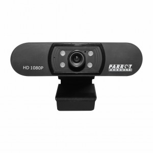 Parrot Web Cam (Webcam) 1080p Full HD Video Conference Web Camera