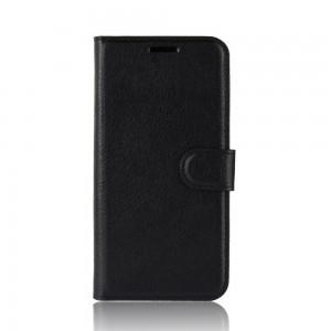 TUFF-LUV Essentials Leather Folio Case & Stand for Samsung Galaxy S20 5G Ultra - Black