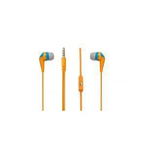 Amplify Walk the Talk- In-earphones with Mic - Turquoise,Orange & Grey