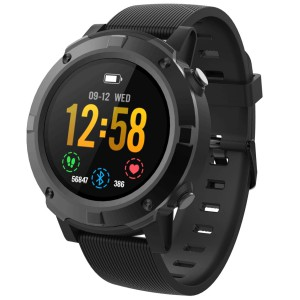 Volkano Active Tech Alpha Plus Series Multisport GPS Round shape Smart Watch - IP68