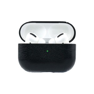 Tuff-luv Apple Airpods Pro Leather Case - Black