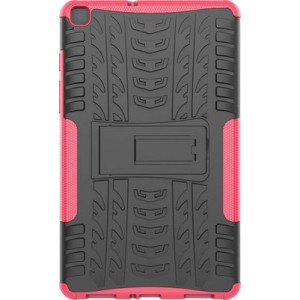 Tuff-Luv Armour Case Rugged & Stand for Samsung Tab A 8.0 T290/T295 - Pink