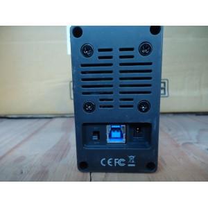 """RCT 2.5"""" inch 2 Bay Raid SATA3 to USB 3.0 Enclosure"""
