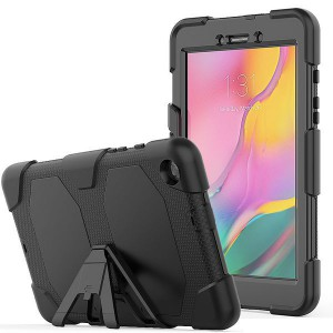 Tuff-Luv Survivor Rugged Armour Case for Samsung Galaxy Tab A 8.0 - Black