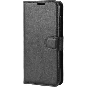 Tuff-Luv Slim Leather Stand Case for the Apple iPhone 11 Pro Max - Black