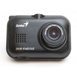 "Genius DVR-FHD568 Vehicle Dash Cam with 2.4"" LCD"